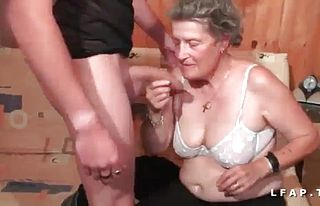 Dutch,granny,french,anal