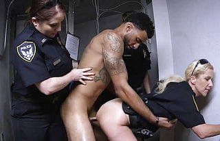 Blowjob,brunette,doggystyle,hardcore,interracial,milf,uniform